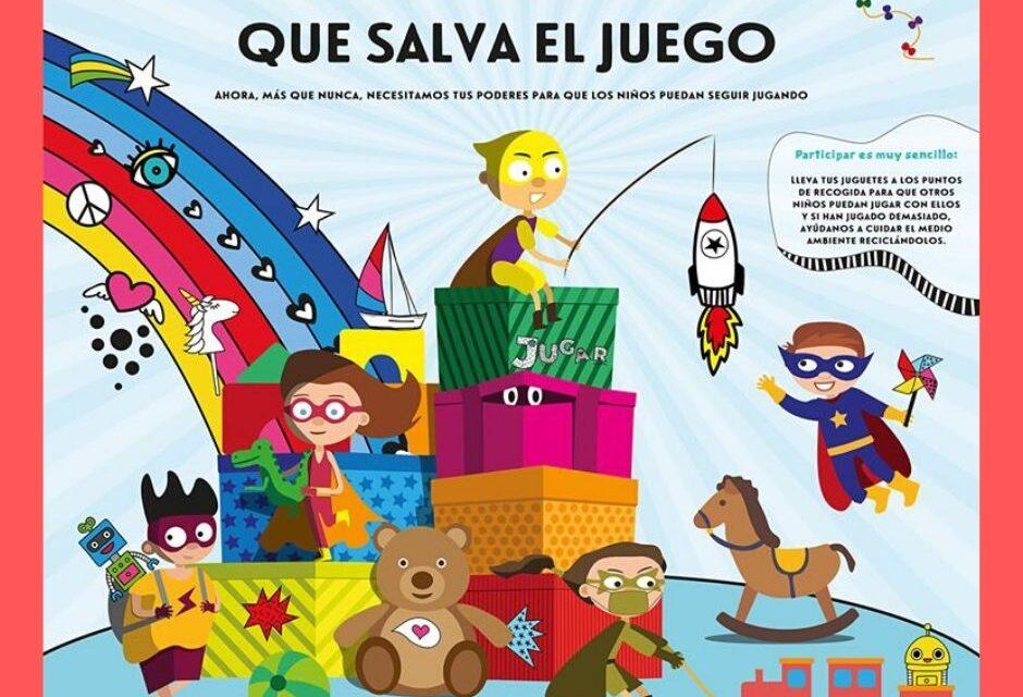 Campaña de recogida de juguetes: comparte y recicla