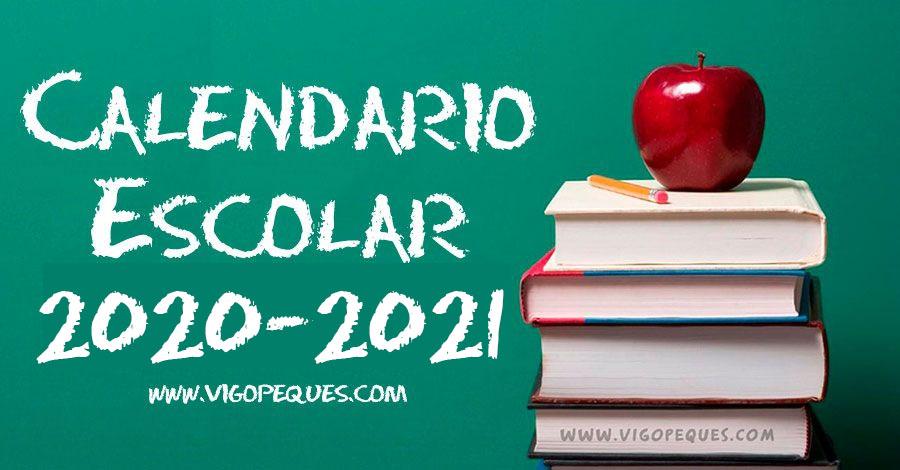 🥇 CALENDARIO ESCOLAR DE GALICIA 2020-2021