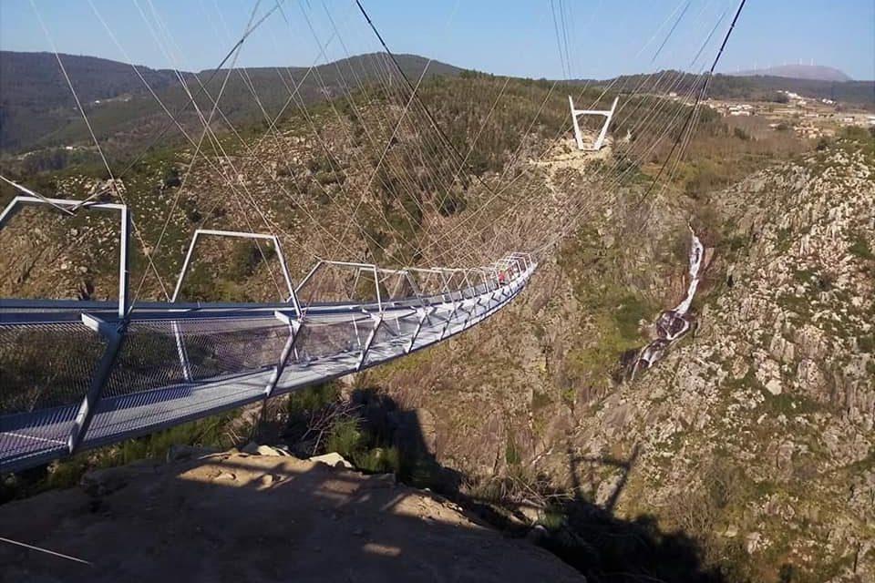 El mayor puente colgante del mundo se inaugurará en breve en Portugal
