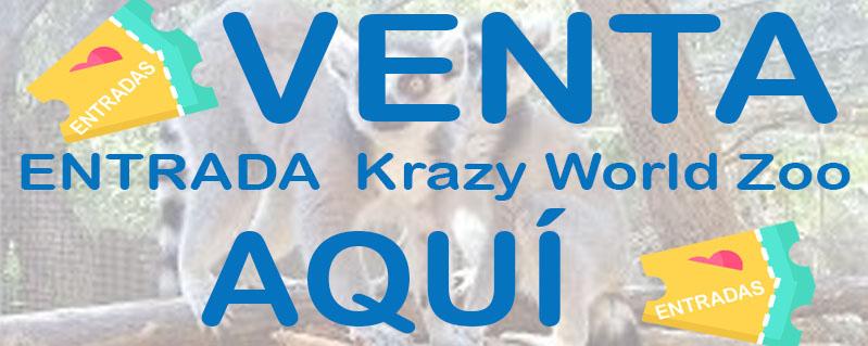 entradas krazy world zoo