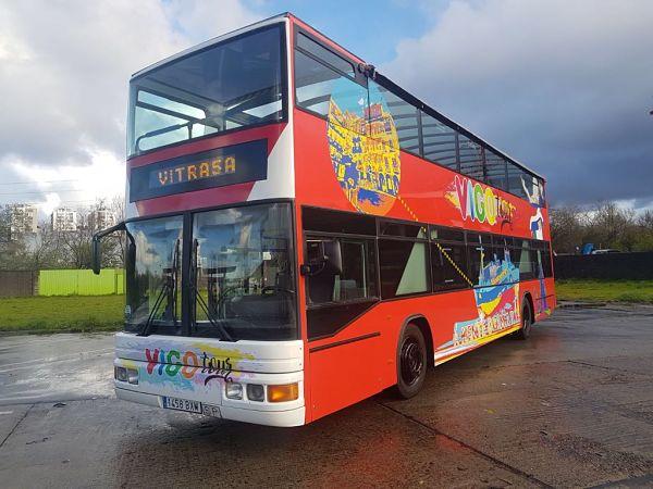 El bus turístico de Vigo vuelve a recorrer las calles de nuestra ciudad