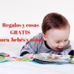 Canastillas y cosas gratis para niños y bebés