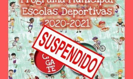 Suspendidas todas las actividades de las escuelas deportivas en Vigo
