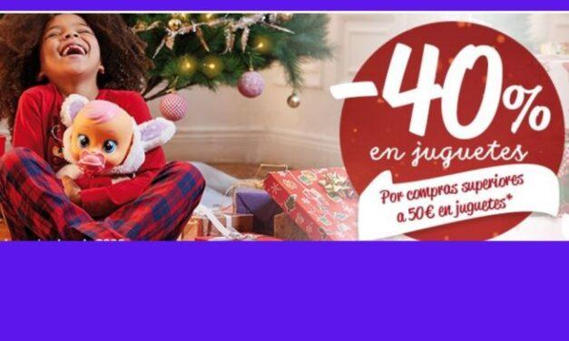 Sanción bienestar período  Carrefour: descuentos del 40% en juguetes y bicicletas - Vigopeques