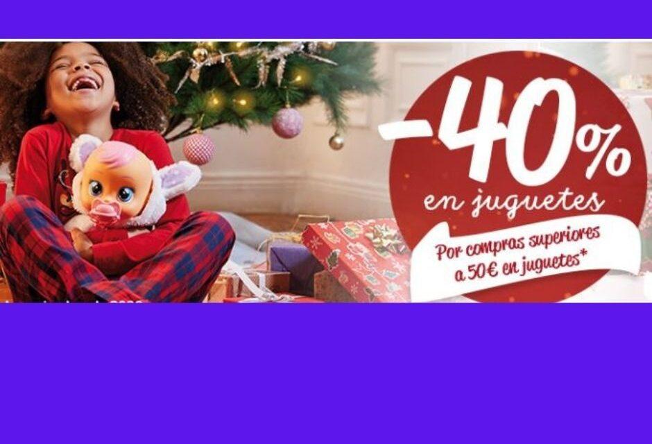 Carrefour: descuentos del 40% en juguetes