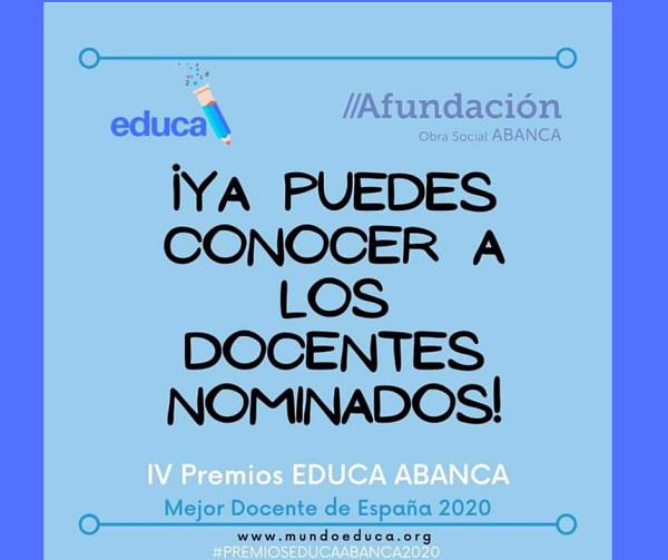 14 profesores gallegos nominados al Premio Mejor Docente de España
