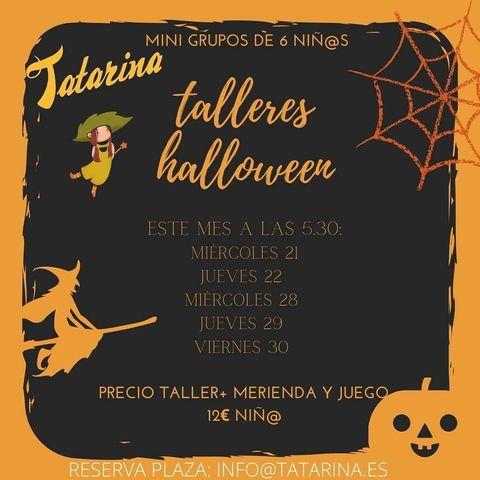Talleres de Halloween en Tatarina
