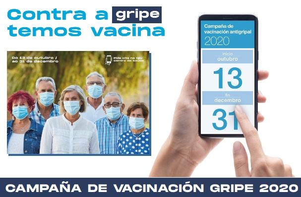 Vacuna de la gripe 2020 en Galicia: Ya se puede pedir cita