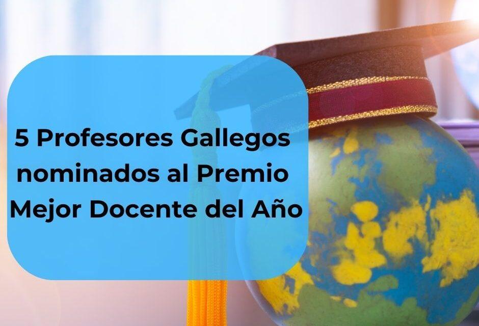 5 profesores gallegos nominados al Premio Mejor Docente del año