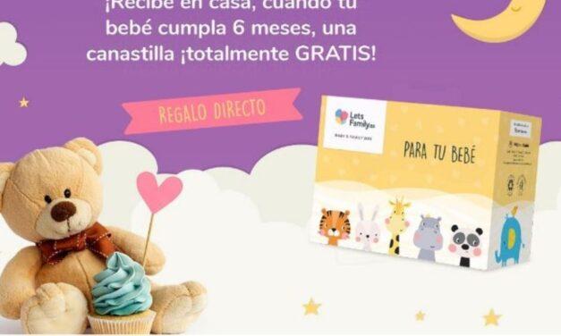 Canastilla gratis para tu bebé