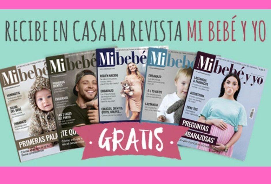 """Recibe gratis en tu casa la revista """"Mi bebé y yo"""""""