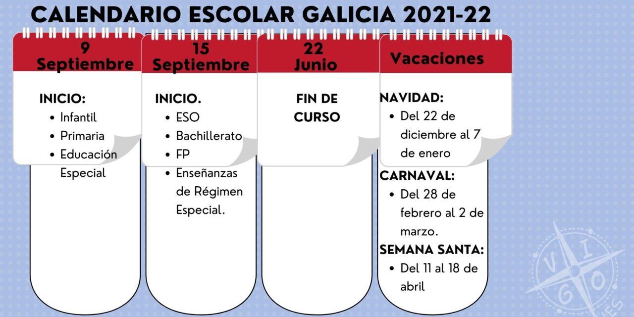 Calendario Escolar de Galicia 2021-22: los exámenes de septiembre pasan a junio