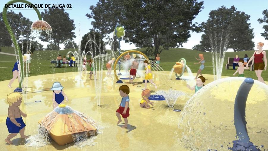 Pontevedra inaugurará este año el primer parque acuático infantil