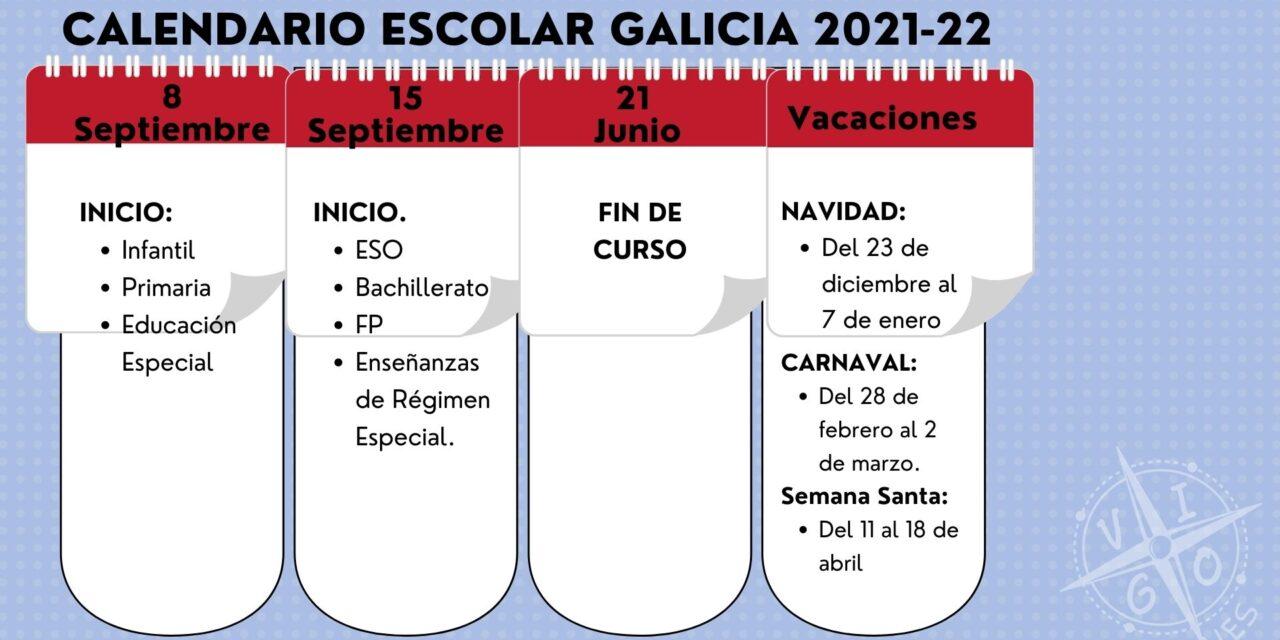 Ya tenemos la fechas clave del Calendario Escolar 2021-22
