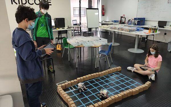Campamentos tecnológicos de verano en  KidCode