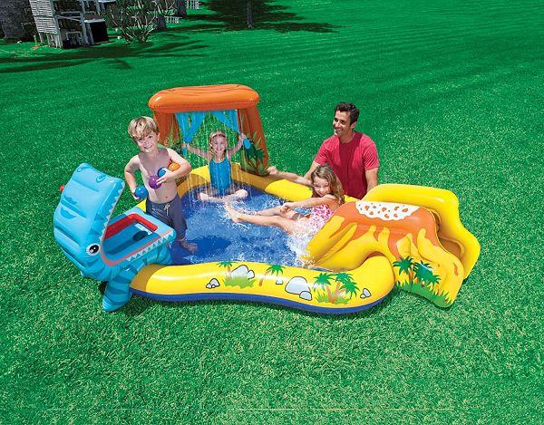 Las 5 piscinas hinchables con tobogán que triunfan este verano