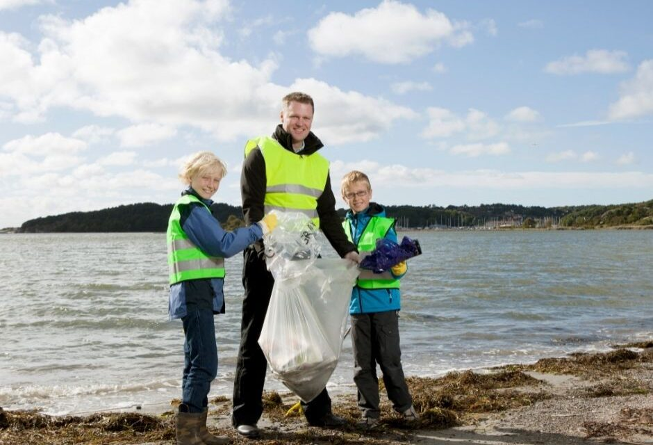 Limpieza de playas simultánea en Galicia